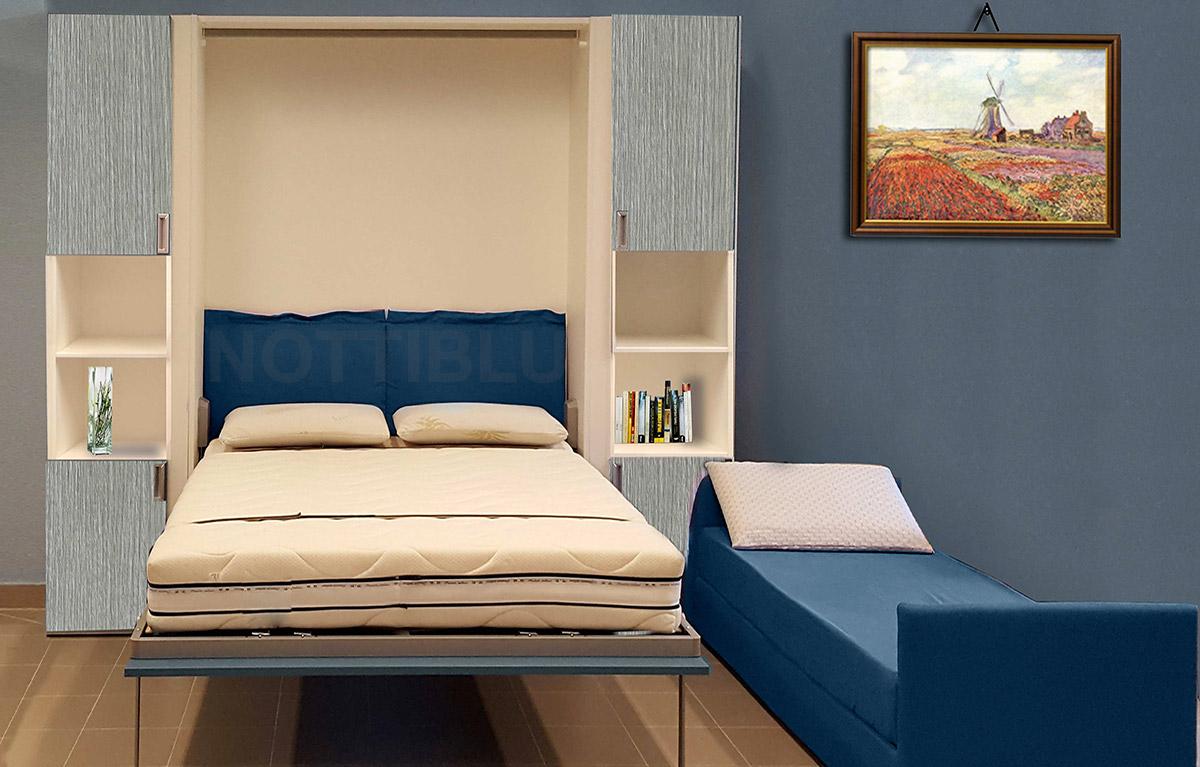 Mobili letto a scomparsa salvaspazio roma letti a scomparsa salvaspazio notti blu - Mobili letto salvaspazio ...